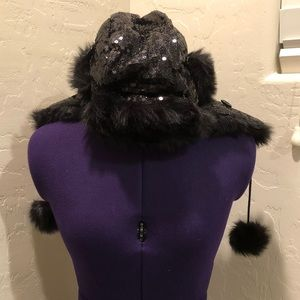 Betsey Johnson winter hat